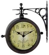 Infinity Instruments Thermometer Indoor/Outdoor Clock