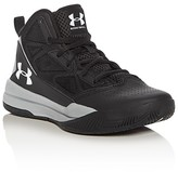 Under Armour Boys' BGS Jet Mid Top Sneakers - Big Kid