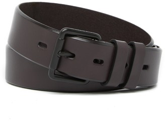 Cole Haan Bevel Edge Leather Belt
