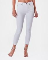 Nicole Miller Soho High Rise Crop Skinny Jean