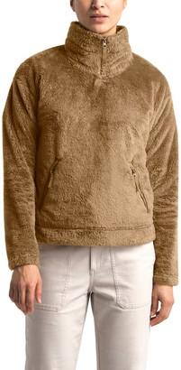 The North Face Plush Fleece Quarter Zip Pullover