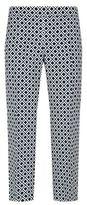 Max Mara Geo Wide Cropped Trousers