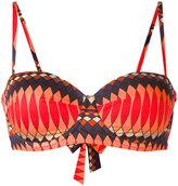 Paul Smith geometric print bikini top