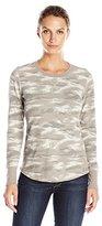 Carhartt Women's Meadow Waffle Knit T-Shirt Printed