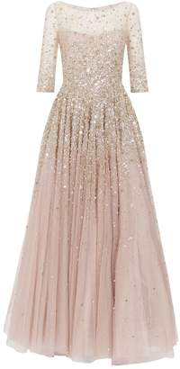 Jenny Packham Charisse Beaded Tulle Gown