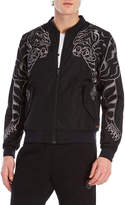 Iuter Tiger Embroidered Bomber Jacket