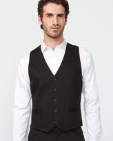 Le Château Stretch Cotton 5 Button Vest