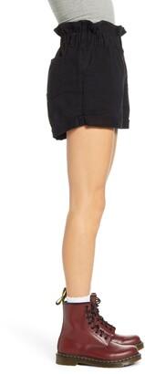 STS Blue Hayley High Waist Paperbag Denim Shorts