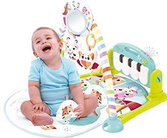 Babify Musical Play Blanket with Projector and Toys (Green)