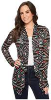 Rock and Roll Cowgirl Long Sleeve Cardigan 46-4741 Women's Sweater