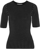 Jonathan Simkhai Ladasha Textured Stretch-knit Top - Black
