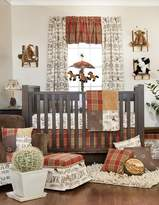 Glenna Jean Carson 3 Piece Crib Bedding Set
