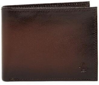 Original Penguin Michigan Slim Bi-Fold Wallet