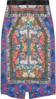Clements Ribeiro Folk Candy printed silk skirt