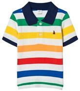 Gap Rainbow Stripe Polo Shirt