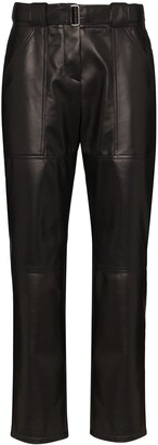 Rosetta Getty High Rise Tapered Trousers