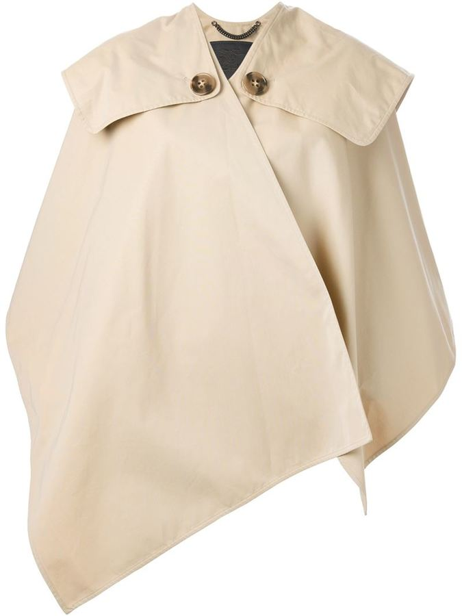 Burberry trench cape