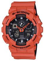 Casio Analog-Digital Resin Shock Watch