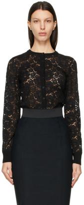 Dolce & Gabbana Black Lace Cardigan