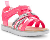 Carter's Linda Glitter Crisscross Strap Sandal (Toddler & Little Kid)