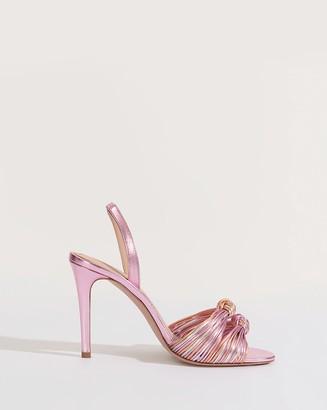 Veronica Beard Alessia Knotted Stiletto Sandal