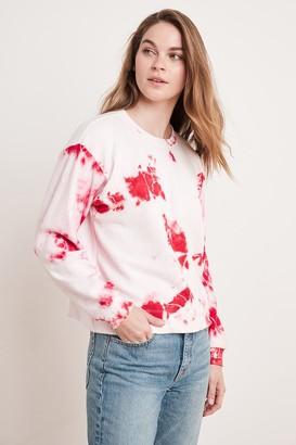 Velvet by Graham & Spencer Adelpha Tie Dye Sweatshirt