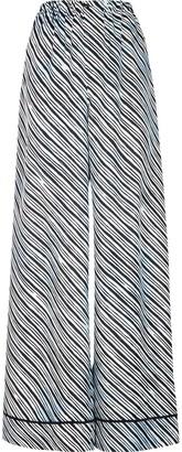 Fendi x Joshua Vides stripe print flared trousers