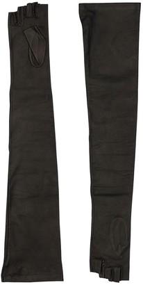 Kiki de Montparnasse Long Leather Gloves
