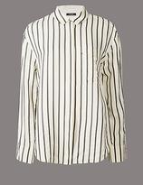Autograph Striped Long Sleeve Shirt