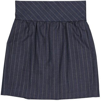 Balenciaga Navy Wool Skirts