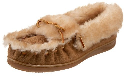 Minnetonka Women's The Ultimate Sheepskin Slipper