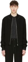 McQ by Alexander McQueen Black Olympic Jacket
