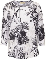 Phase Eight Catrina Linear Floral Print Top