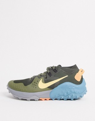 Nike Running Wildhorse 6 trainers in green