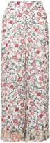 See by Chloe floral palazzo pants - women - Silk/Viscose - 36