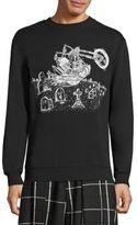McQ Graphic-Print Sweater