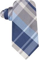 Ryan Seacrest Distinction Backlot Plaid Slim Tie