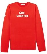 Bella Freud God Created Merino Wool Sweater