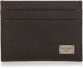 Dolce & Gabbana Grained-leather cardholder