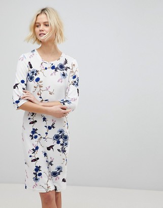 B.young Floral Shift Dress