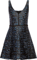 Proenza Schouler Silk-blend jacquard dress