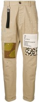 DSQUARED2 patch detail chinos