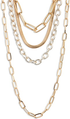 8 Other Reasons Sunday Morning Layered Necklace