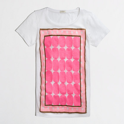 J.Crew Factory Factory framed dot collector tee