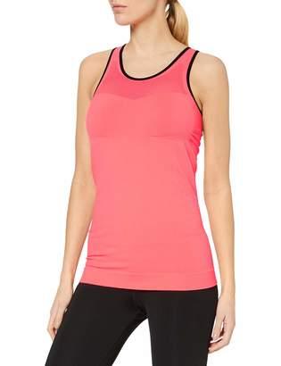 Bellissima Women's Top Sports Shirt Multicolour (neon pfirsich/Schwarz 696/001) Medium