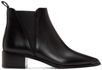 Acne Studios Black Jensen Ankle Boots