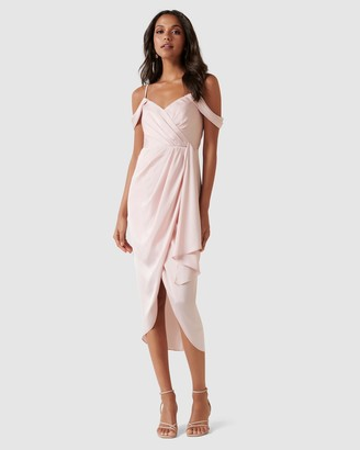 Forever New Hadley Waterfall Midi Dress