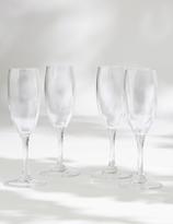 Marks and Spencer Set of 4 Picnic Champagne Flutes