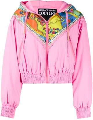 Versace Jeans Couture Colour-Block Bomber Jacket