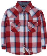 Levi'S Barstow Western Plaid Printed Shirt